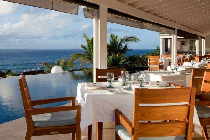 Best Caribbean Dining Restaurant Le Gaiac St Barth 1