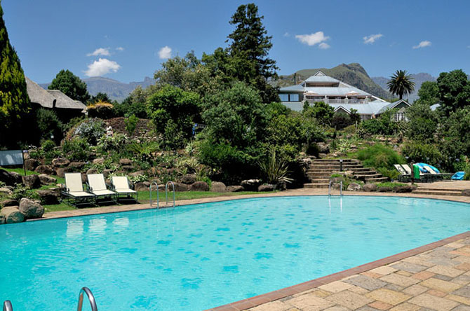 Cathedral Peak Hotel Scenic Retreat in South Africa 1