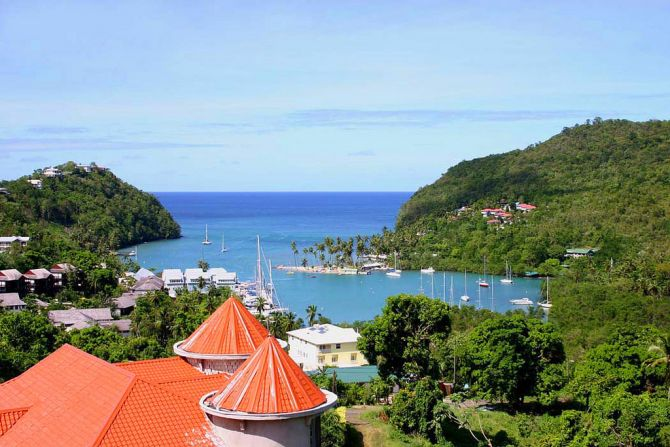 Discovering the Volcanic Nature of St Lucia Marigot Bay