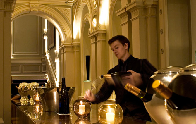 Fine Dining at 1901 Andaz Hotel London 2