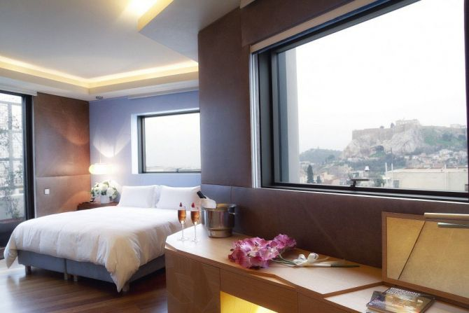 Four Awesome Boutique Hotels in Athens New Hotel 1