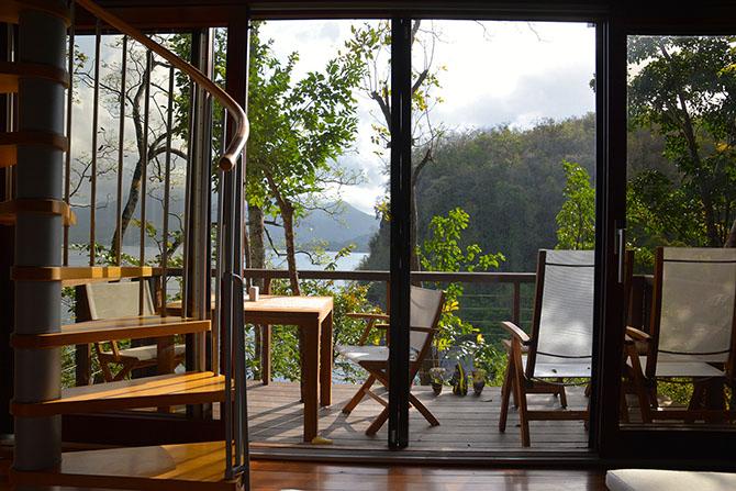 Scret Bay hotel in Dominica