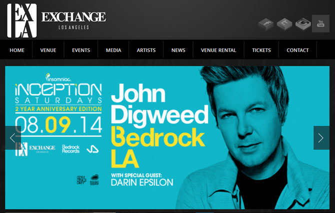Ten Awesome American Nightclubs The Exchange Los Angeles