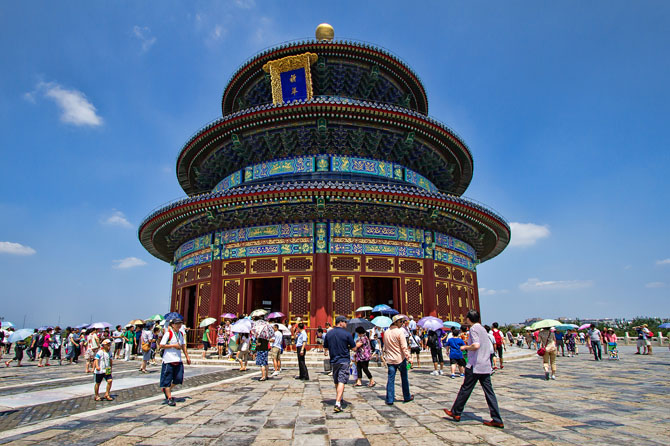 Top 10 Magnificent Temples in Asia Temple of Heaven Beijing China
