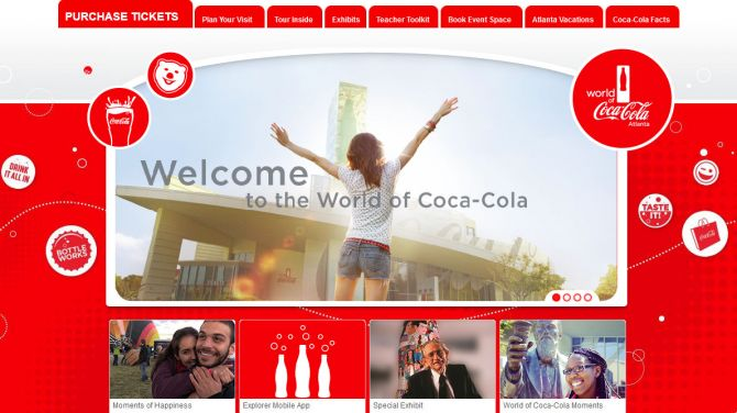 Top 5 Museums in Atlanta World of Coca Cola