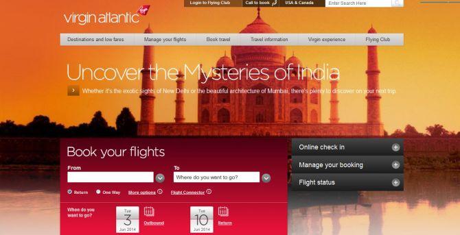 Virgin Atlantic Top Ten Airlines for Business Travel