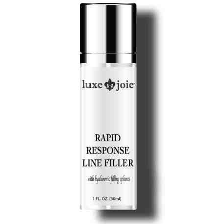 rapid response line filler on white background