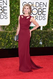 Christine Baranski in Zac Posen