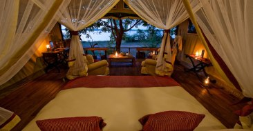 Chiawa Camp Safari Tent - Courtesy of chiawa.com