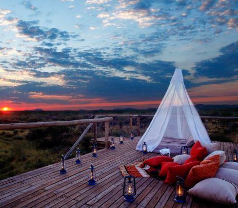 Makanyane Safari Lodge - Sleeping Under the Stars - Courtesy of Makanyane Lodge
