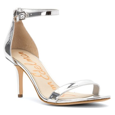 Sam Edelman silver sandals - Luxe Look for Less - The Luxe Lookbook