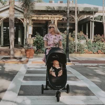 Strollin' with Baby Jogger