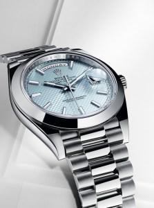 Rolex Day Date in Platinum