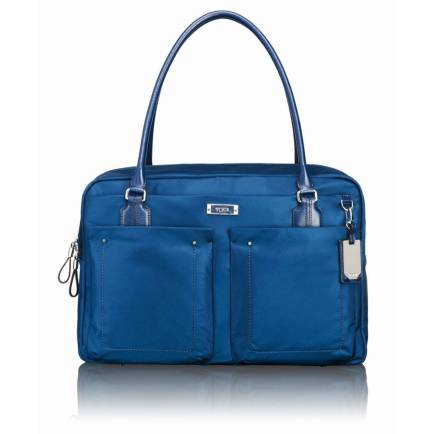 The TUMI Voyageur line always comes in fun colors. This is the Cortina Tote.