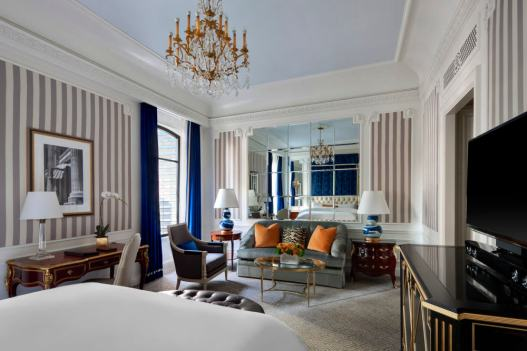 The St. Regis Grand Deluxe rooms