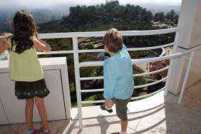 Many great views from the Getty Center