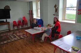 The Omni Kids Club room