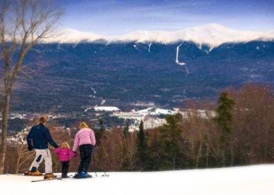 A family ski resort