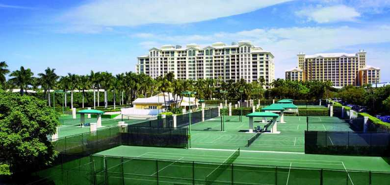 The Ritz Carlton Key Biscayne takes tennis seriously