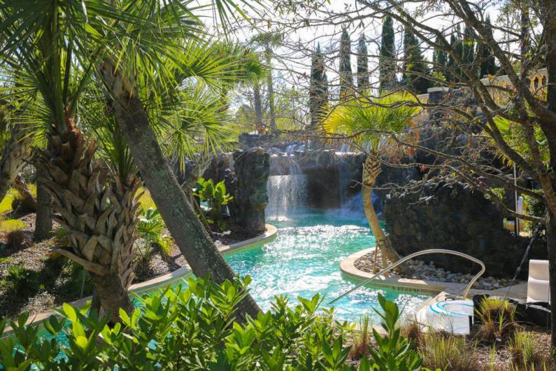 The lazy river and Explorers' Island at the Four Seasons Orlando at Walt Disney World