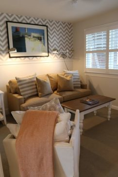 Front sitting room in Winnetu suites.