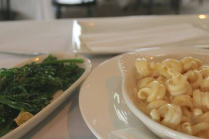 The world's greatest macaroni and cheese from Atria in Edgartown