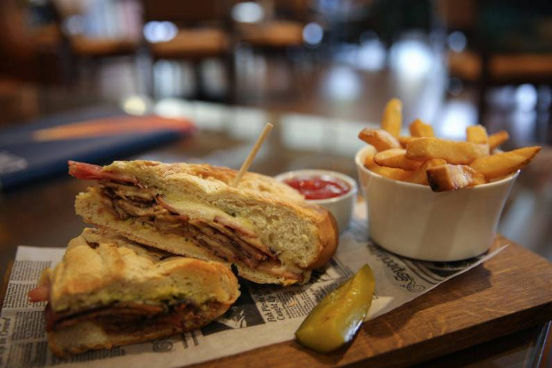 Four Seasons Orlando Planca Cuban Sandwich