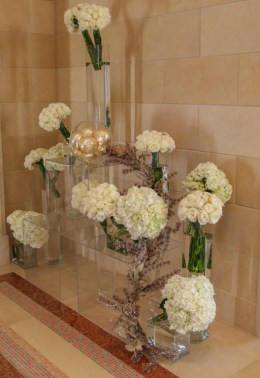 Four Seasons Orlando lobby flowers