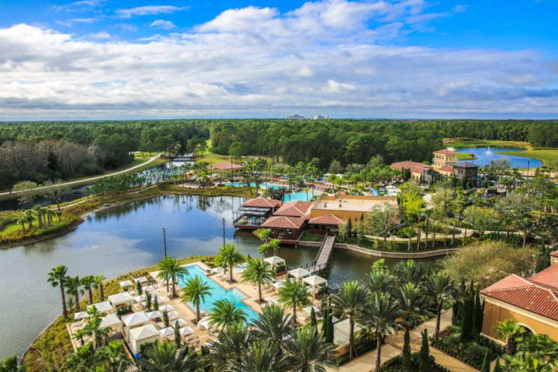 Four Seasons Orlando balcony views