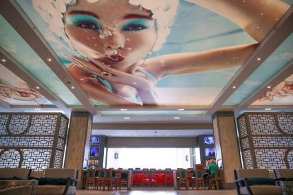 Waldorf Astoria Hilton Bonnet Creek Lobby