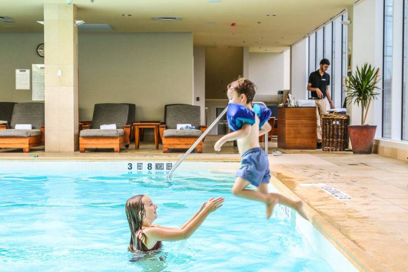 Ritz Carlton Westchester pool