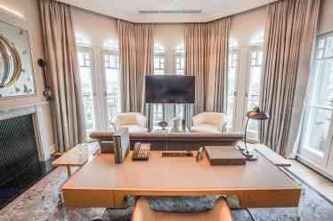 Mandarin Oriental London Turret Suite