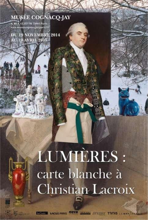 Christian Lacroix Fil Rouge De Lexposition Lumires Au