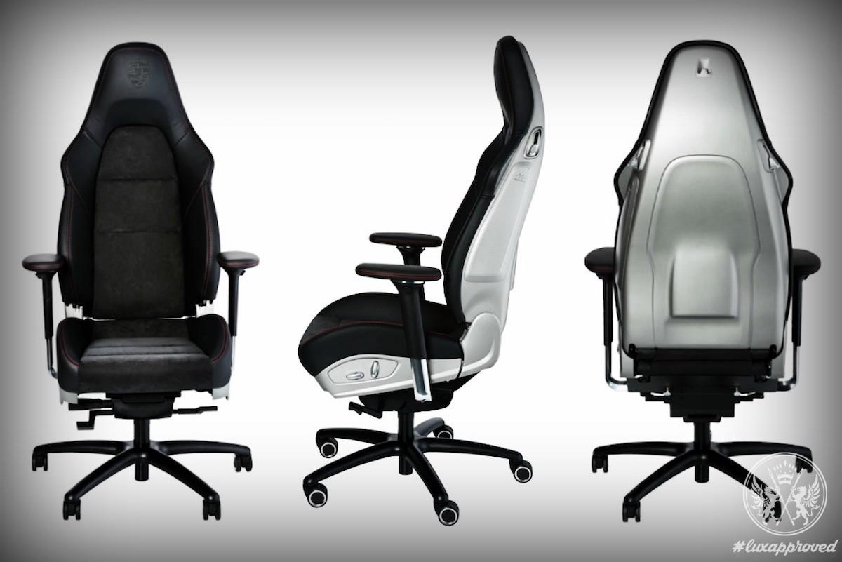 Porsche 911 GT3 Office Chair Will Set You Back $6570 & Porsche 911 GT3 Office Chair Will Set You Back $6570 | Lux Exposé