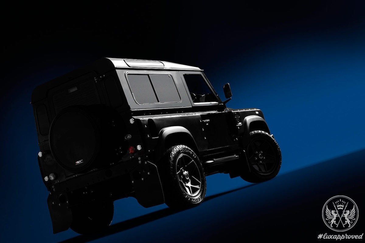 The One Off Khan Ultimate Land Rover Defender Lux Expose