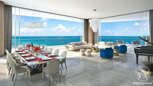 Karl Lagerfeld Designs the Lobbies of The Estates At Acqualina