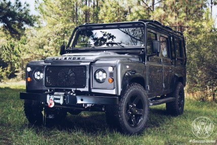 Behold the $225,000 Project XIII, Custom Land Rover Defender by East Coast Defender