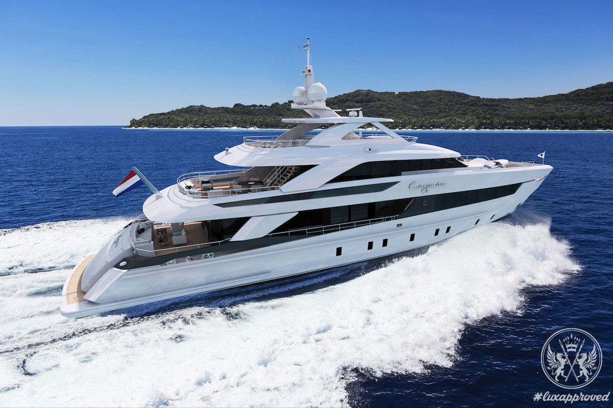 Heesen Yachts Launched Project Cayman at the 57th Fort