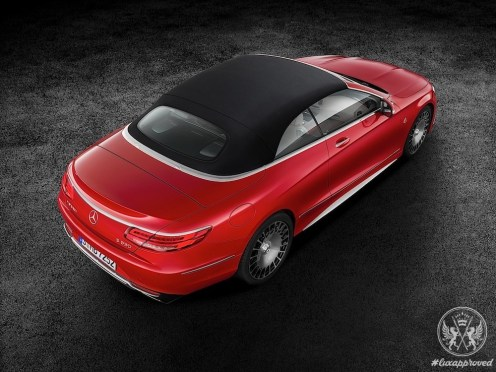 Mercedes-Maybach S650 Cabriolet Is Premiered in LA