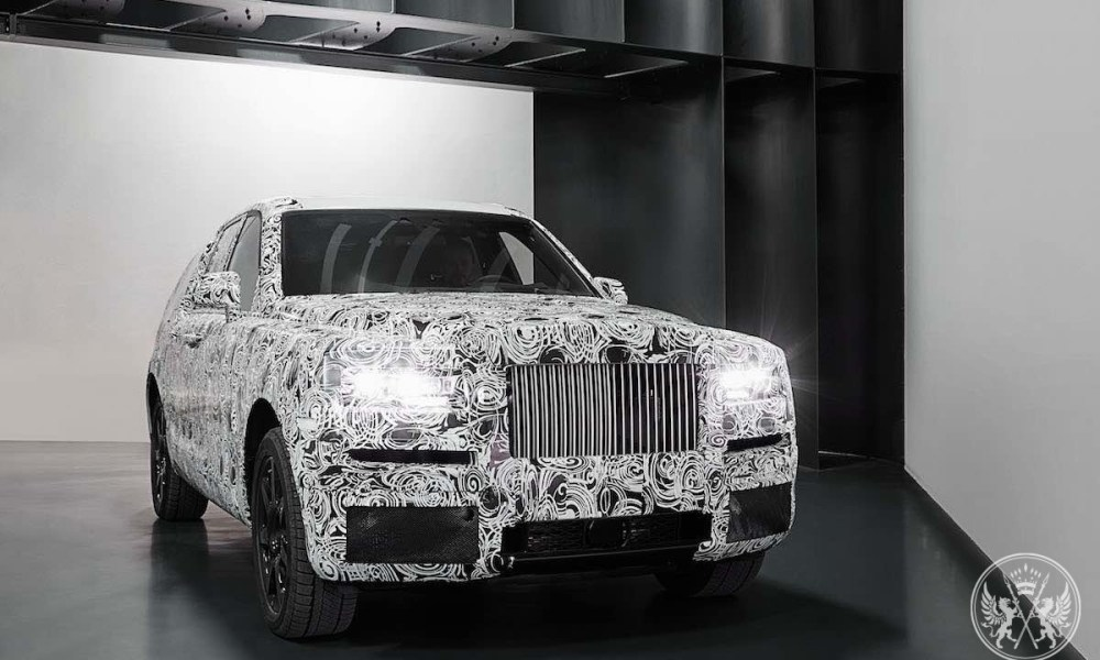 Rolls-Royce Project Cullinan Is Taking Shape