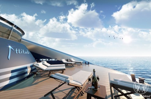 Rossinavi Attitude Is a 174-foot High Performance Stunner with High-End Design