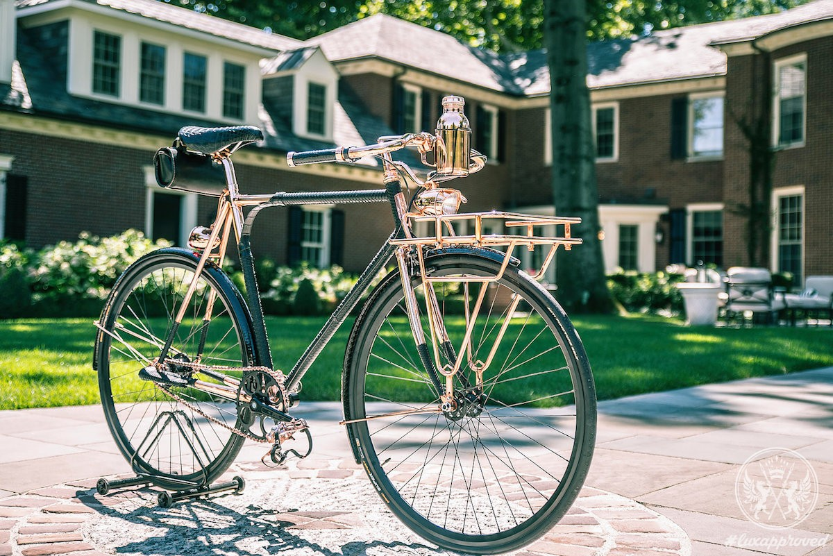 Williamson Goods & Supply Create a $35,000 Wheelmen Bicycle