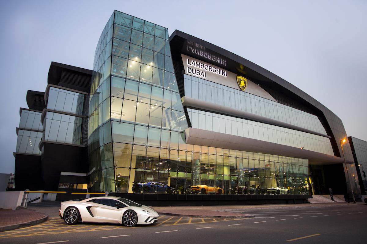 Lamborghini Dubai Is Automobili Lamborghini's Largest Showroom in the World
