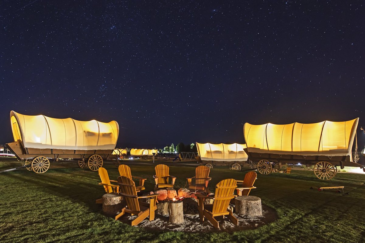 View Total Solar Eclipse While Lodging in a Grand Tent at Conestoga Ranch