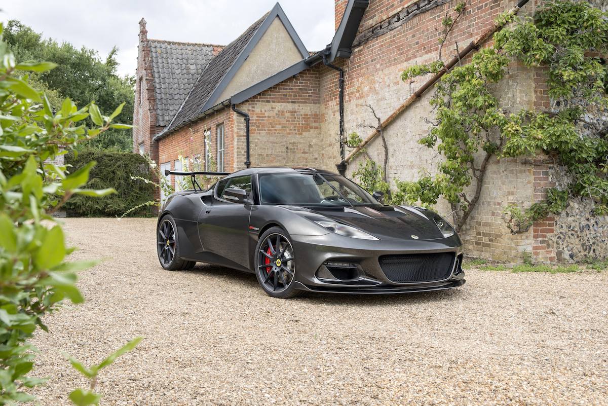 Lotus Unveiled Its Most Powerful Road-Going Model Ever – the Evora GT430