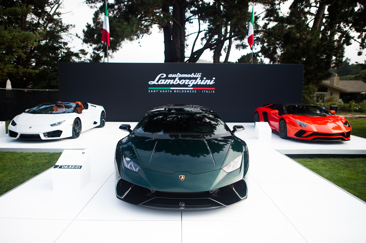 Presented a Unique Collection of Vehicles During Monterey Car Week 2017