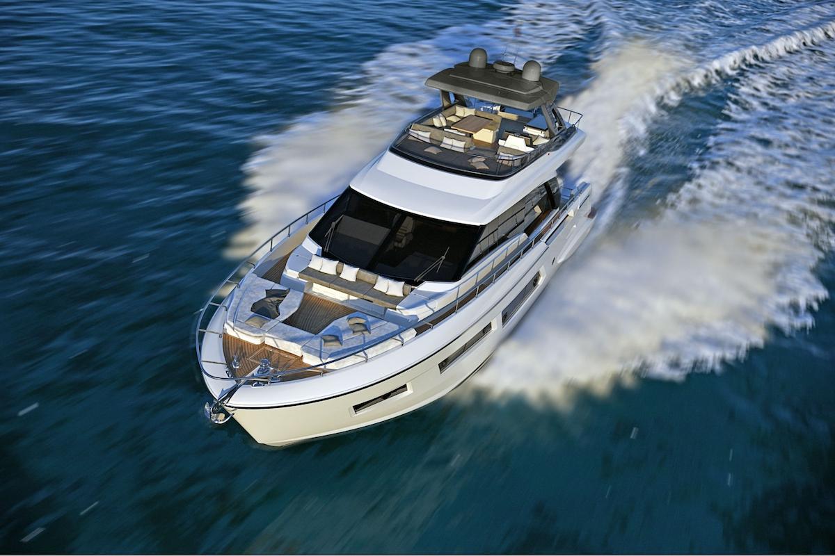 Ferretti Yachts 670 Debuts in Summer 2018