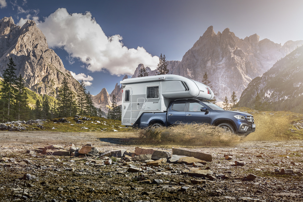 Mercedes Benz Unveils First Camper Van Concepts Based On The X Class