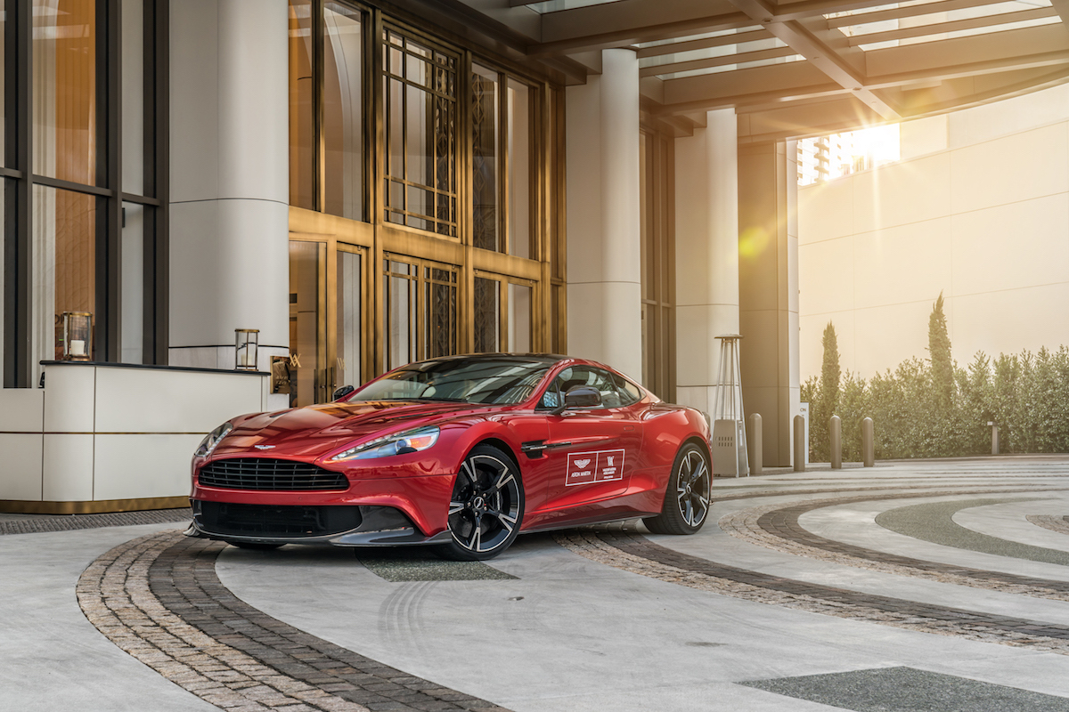 Live Aston Martin Suite Package at Waldorf Astoria Beverly Hills