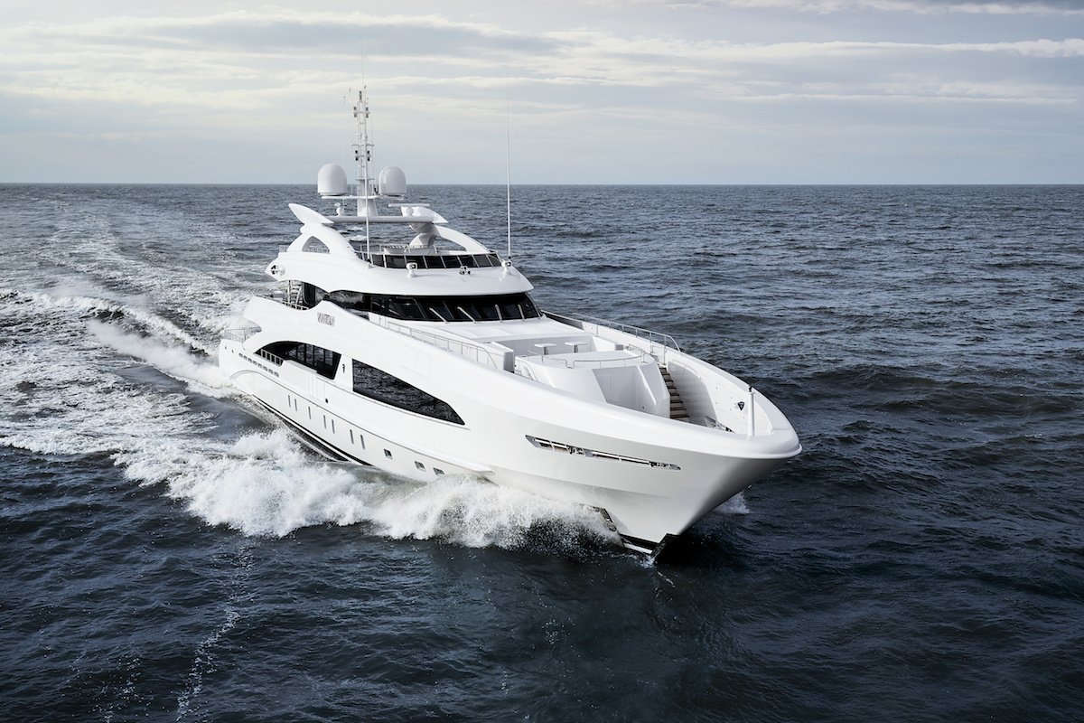 Heesen Announced the Delivery of 50-metre Superyacht VanTom